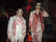 Chainsaw Clowns in the Terror Tram 2009