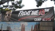 Behind The Scenes- Halloween Horror Nights FRIDAY THE 13TH- CAMP BLOOD Maze