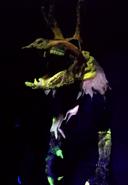 Yellow Wendigo Skeletal Ghost