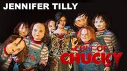Jennifer Tilly Survives the Terror Tram Hosted by Chucky