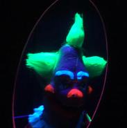 Jumbo the Clown (Black Light)