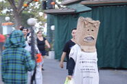 Trick 'r Trad Paper Bag Kid