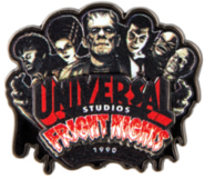 Retro Fright Nights 1990 Pin