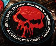 HHN 27 Scareactor Badge
