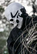 Black Skeletal Stiltwaker 27