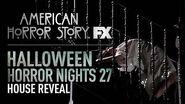 American Horror Story House Reveal - Halloween Horror Nights 27