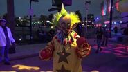 Killer Klowns from Outer Space SCARE ZONE at Universal Orlando Halloween Horror Nights