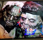 Swamp Zombies on TV
