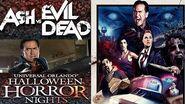 Ash Vs Evil Dead 4K Haunted House Walk Through POV Halloween Horror Nights Universal Orlando HHN 27