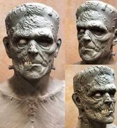 Sculpting Mask of Frankenstein's Monster