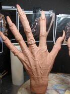 Krampus Hands Sculpt