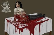 Bisected Alice Cooper Concept Art