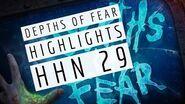 Depths of Fear HIGHLIGHTS - Halloween Horror Nights 2019 - Universal Orlando Resort