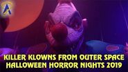 Killer Klowns from Outer Space highlights from Halloween Horror Nights Orlando 2019