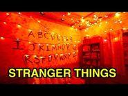 -NEW- Stranger Things - Halloween Horror Nights 2018 (Universal Studios Hollywood, CA)