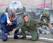 Invasion! Alien Beast and Soldier