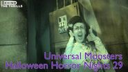 Universal Monsters highlights at Universal Orlando's Halloween Horror Nights 29 in nightvision
