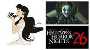 The Princess and the Vlog - 'Halloween Horror Nights Walkthrough' - Oct