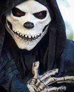 Black Skeletal Stiltwaker 14