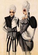 Asylum Checkerboards Concept Art