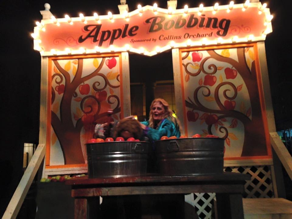 Apple Bobbing Inmate