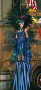 Carnival Peacock Girl 5