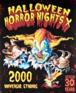 Retro Halloween Horror Nights X 2000 Jack Poster