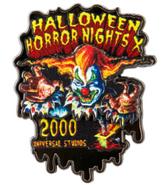 Retro Halloween Horror Nights X 2000 Jack Pin