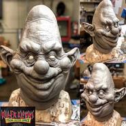 Sculpting mask of Jumbo and Bibbo