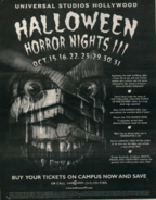 HHN III Newspaper Ad