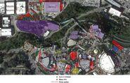 HHN 2011 Map