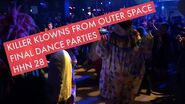 Killer Klowns Scare Zone Final Dance Parties Halloween Horror Nights 28 Universal Studios Florida