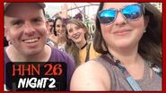 HHN 26 Reunited with Friends and Loving Vamp 55!