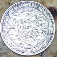 HHN IX Silver Parade Coin Front