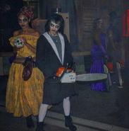 Voodoo Queen and Cindy