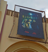 HHN 28 The Horrors Of BlumHouse Front Gate Banner
