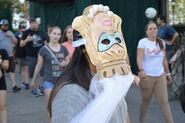 Trick 'R Treat Upside Down Mask Girl