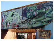 Fright Yard Graffiti