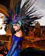 Carnival Peacock Girl 7