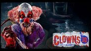 Clowns 3D Music By Slash at Halloween Horror Nights