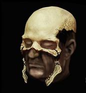 Blood and Bone Minion Mask Concept Art 1