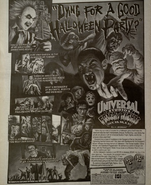 Fright Nights Newspaper