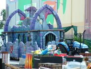 Midway of the Bizarre Dungeon Float