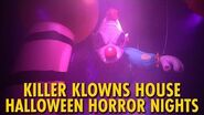 Killer Klowns From Outer Space at Halloween Horror Nights 29 Universal Orlando
