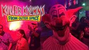Halloween Horror Nights - Killer Klowns From Outer Space - Scare Zone - HHN28