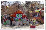 Midway of the Bizarre Floats