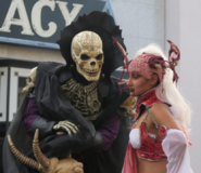 The Bone Reaper and Bloodescort
