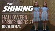 Stanley Kubrick's The Shining House Reveal - Halloween Horror Nights 27