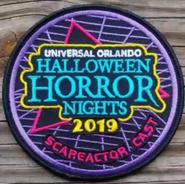 HHN 29 Scareactor Badge