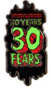 30 Years 30 Fears Pin
